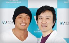 秋成勋到访韩国原辰整形医院 美丽与你同行