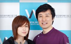崔江熙到访韩国原辰整形医院 美丽与你同行