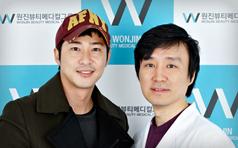 姜志焕到访韩国原辰整形医院 美丽与你同行