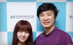 朴孝珍到访韩国原辰整形医院 美丽与你同行