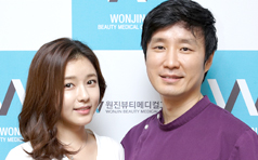 吴智恩到访韩国原辰整形医院 美丽与你同行