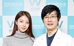 严贤京到访韩国原辰整形医院 美丽与你同行